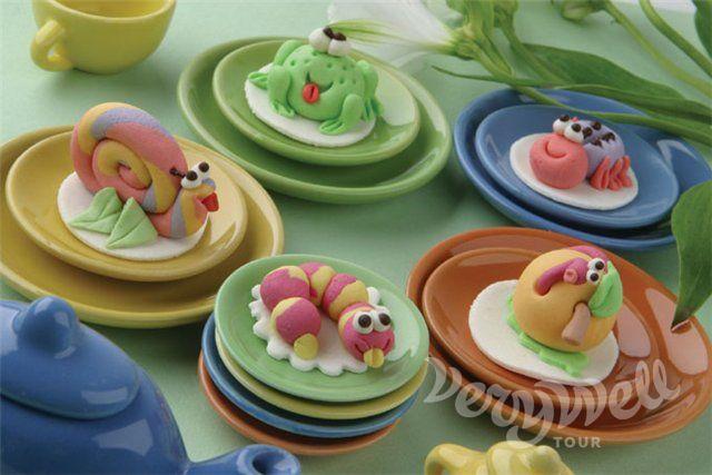 Мастер класс по лепки из мастики для детского торта